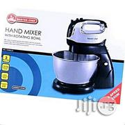 Hand Mixer With Rotating Big Bowl | Kitchen Appliances for sale in Lagos State, Lagos Mainland