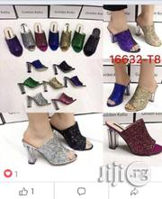 Classic Block Heel Slippers | Shoes for sale in Lagos State, Surulere
