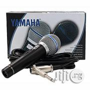 Brand New Yamaha Cable Microphone | Accessories & Supplies for Electronics for sale in Lagos State, Ilupeju
