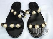 Lumeidi Classy Studded Jelly Slippers - Black | Shoes for sale in Lagos State, Agege