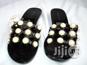Lumeidi Simple Studded Jelly Slippers | Shoes for sale in Lagos State, Agege
