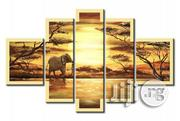 Afrivan Sunset Scated Paintings   Arts & Crafts for sale in Abuja (FCT) State, Asokoro