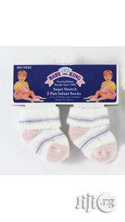 Baby King Super Stretch Infant Socks | Children's Clothing for sale in Lagos State, Ikeja
