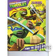 TMNT Jumbo Colouring And Activity Book - Time To Shell Up | Books & Games for sale in Lagos State, Surulere