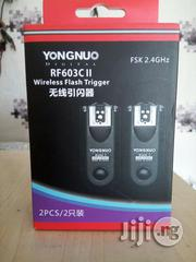 Yongnuo RF 603C II Wireless Flash Trigger For Canon | Accessories & Supplies for Electronics for sale in Rivers State, Port-Harcourt