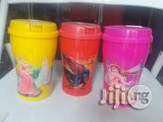 Plastic Cup With Straw | Babies & Kids Accessories for sale in Lagos State, Ikeja