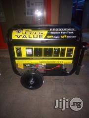 Power Value 3.5KVA Automatic Generator With Two Years Warranty. | Electrical Equipments for sale in Lagos State, Ojo