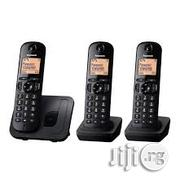 Three (3) Panasonic Wireless Intercom Cordless Phone | Home Appliances for sale in Lagos State, Ikeja