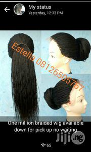 Lace Frontal One Million Braided Wig   Hair Beauty for sale in Lagos State, Lagos Island