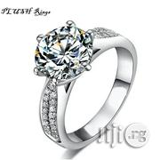Quality Engagement Ring - Sterling Silver Proposal Wedding | Wedding Wear for sale in Rivers State, Port-Harcourt