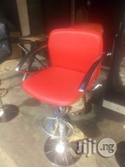 Imported Oxford Bar Stool Red Colour | Furniture for sale in Lagos State, Ojo