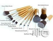 Bamboo Brush Sets (11 Pieces) | Makeup for sale in Lagos State, Ikorodu
