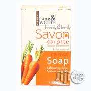 Fair and White Savon Carrot Exfoliating Soap, 200g | Bath & Body for sale in Abuja (FCT) State, Gwarinpa
