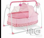 Rocking Baby Bed With Mosquito Net - Pink | Children's Gear & Safety for sale in Lagos State, Ajah