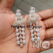 Dropping Rhinestone Earrings | Jewelry for sale in Lagos State, Ikorodu
