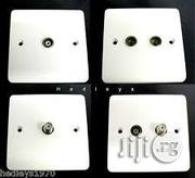 Sollatec TV Socket [White] | Electrical Tools for sale in Lagos State, Ikeja