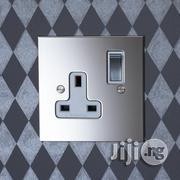 Diamond UK 15amps Socket [Silver&Gold] | Electrical Tools for sale in Lagos State, Ikeja