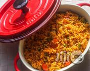 Well Packed Jollof Rice With 2 Beef For 100 Guests | Meals & Drinks for sale in Lagos State, Lagos Mainland