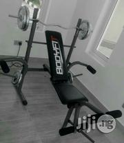 Weight Bench With The Weight | Sports Equipment for sale in Lagos State, Surulere