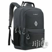 Coolbell 18.4 Inches Waterproof Laptop Backpack Cb-5508 - Grey | Bags for sale in Lagos State, Lagos Mainland