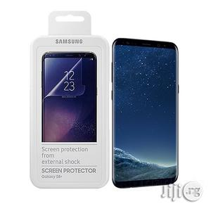 Samsung Galaxy S8+ / S9 Clear Cover Case Screen Protector Pack