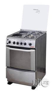 Qasa Standing Gas Cooker + Oven + 2 Hotplates + 2 Burner | Kitchen Appliances for sale in Lagos State, Ojo