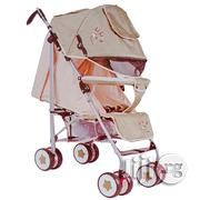 Full Canopy Reversable Handle Bar Armrest Baby Stroller Sit And L Ying | Prams & Strollers for sale in Rivers State, Port-Harcourt