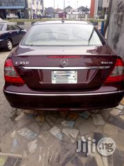 Mercedes-Benz E350 2008 Red | Cars for sale in Rivers State, Port-Harcourt