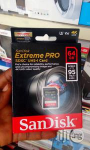 Sandisk Extreme Pro 64gb SD 95mb/S | Computer Accessories  for sale in Lagos State, Ikeja