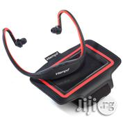 Intempo Bluetooth Wireless Sports Earphones Running Set, Black/Red | Headphones for sale in Lagos State, Lagos Mainland