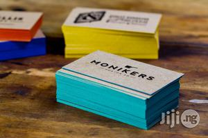 Branded Colored Edge Business Cards