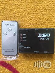 HDMI Switch Splitter- 3 Port 1080p | Accessories & Supplies for Electronics for sale in Lagos State, Ikeja