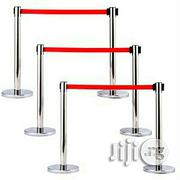 Crowd Queue Control Barrier Stand Of Belts Stanchions - Set Of 3 Pairs | Safety Equipment for sale in Lagos State, Surulere