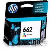 HP 662 Tri-Color Printer Ink Cartridge | Accessories & Supplies for Electronics for sale in Lagos State, Ikeja
