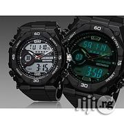 Ohsen Waterproof Analog and Digital LED Wristwatch | Watches for sale in Lagos State, Ikeja