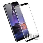 Tempered Glass Film for Samsung Galaxy S9 Plus - Black | Accessories for Mobile Phones & Tablets for sale in Lagos State, Ikeja