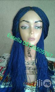Braided Wig With Closure Sharp Blue | Hair Beauty for sale in Lagos State, Lagos Island