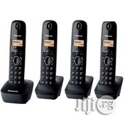 Panasonic Cordless Wireless Intercom KX-TG1311 Dect Phone 4 Pieces | Home Appliances for sale in Lagos State, Ikeja