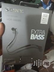 Sony Stereo Bluetooth Headphones Mdr Xb80bs Extra Bass | Headphones for sale in Lagos State, Ikeja