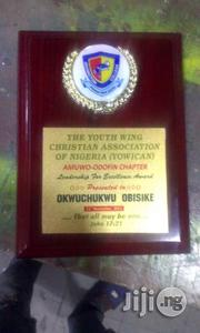 Award Plaque With White Up | Arts & Crafts for sale in Lagos State, Ikeja