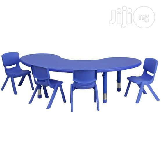 Half Moon School Tables(Wholesale And Retail)