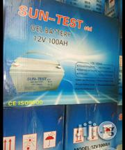100ah 12v Suntest Battery | Electrical Equipment for sale in Lagos State, Ojo