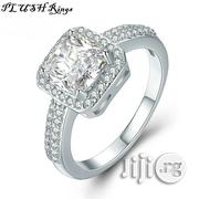 Engagement Ring Wholesale Classic Silver-plated Wedding Proposal Band   Wedding Wear for sale in Rivers State, Port-Harcourt