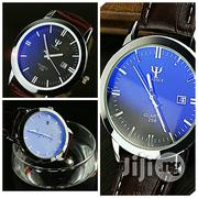 Man Leather Band Calender Date Analog Quartz Water Proof | Watches for sale in Abuja (FCT) State, Gwagwalada