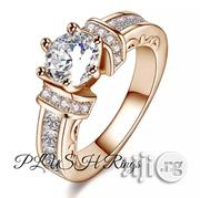 Plush Engagement Ring Wholesale-Classic Gorgeous Gold-Filled Proposal | Wedding Wear for sale in Rivers State, Port-Harcourt