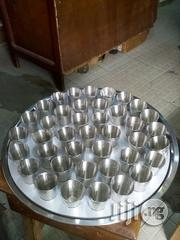 Stainless Communion Tray With Steel Cups | Kitchen & Dining for sale in Edo State, Auchi