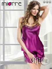 Purple Lace Satin Lingerie Set | Clothing for sale in Lagos State, Apapa