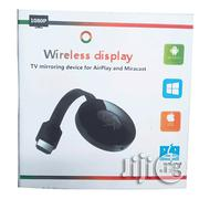 Wireless Display TV Mirroring Device Airplay And Miracast Chromecast | Accessories & Supplies for Electronics for sale in Lagos State, Ikeja