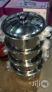 German Induction Stainless Stieel Pot By 4 | Kitchen & Dining for sale in Lagos State, Lagos Island
