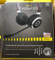 Jabra Evolve 65 MS Stereo Bluetooth Headset | Headphones for sale in Rivers State, Port-Harcourt